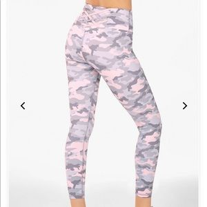 Fabletics High Wasted Statement Power Hold Pants